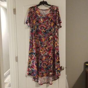 Lularoe hi low dress